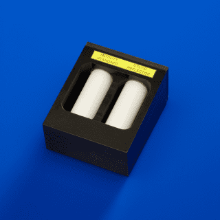 MOORO2FLO-CAL-2PFS | Calibration Block